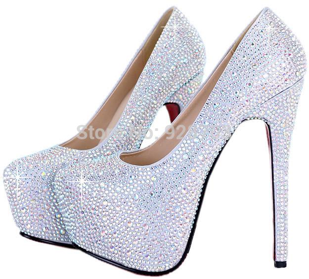 aliexpress buy 2015 white silver 16cm ultra high
