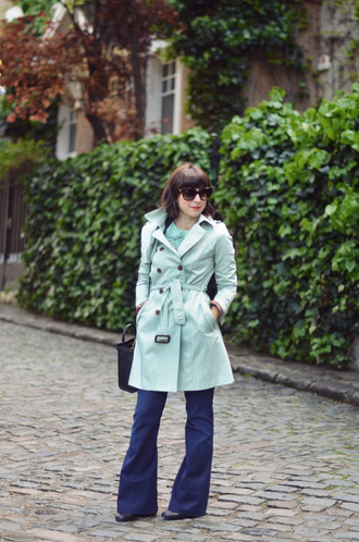 jeans coat t-shirt valentine trench coat