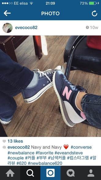 shoes 620 navy pink women new balance