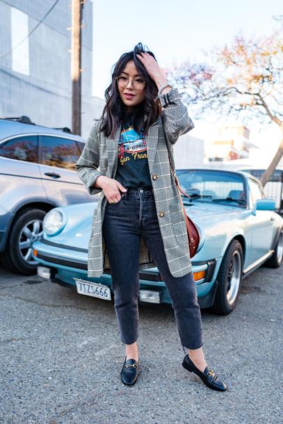 shoes flats mules black flats jeanst op topc coat bag