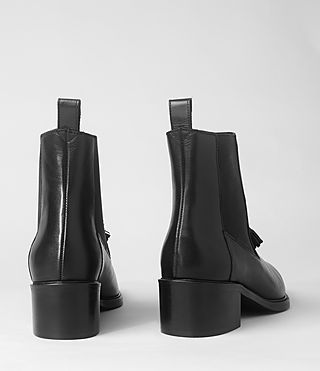 Womens Kiss Tassel Boot (Black) | ALLSAINTS.com