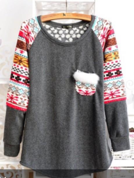 sweater aztec sweater aztec winter sweater