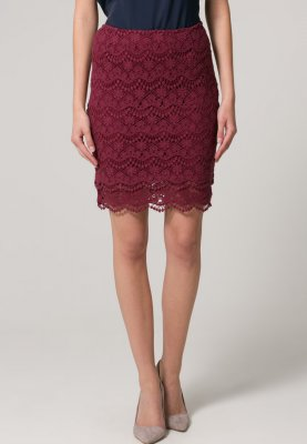 mint&berry Minifalda - rojo - Zalando.es