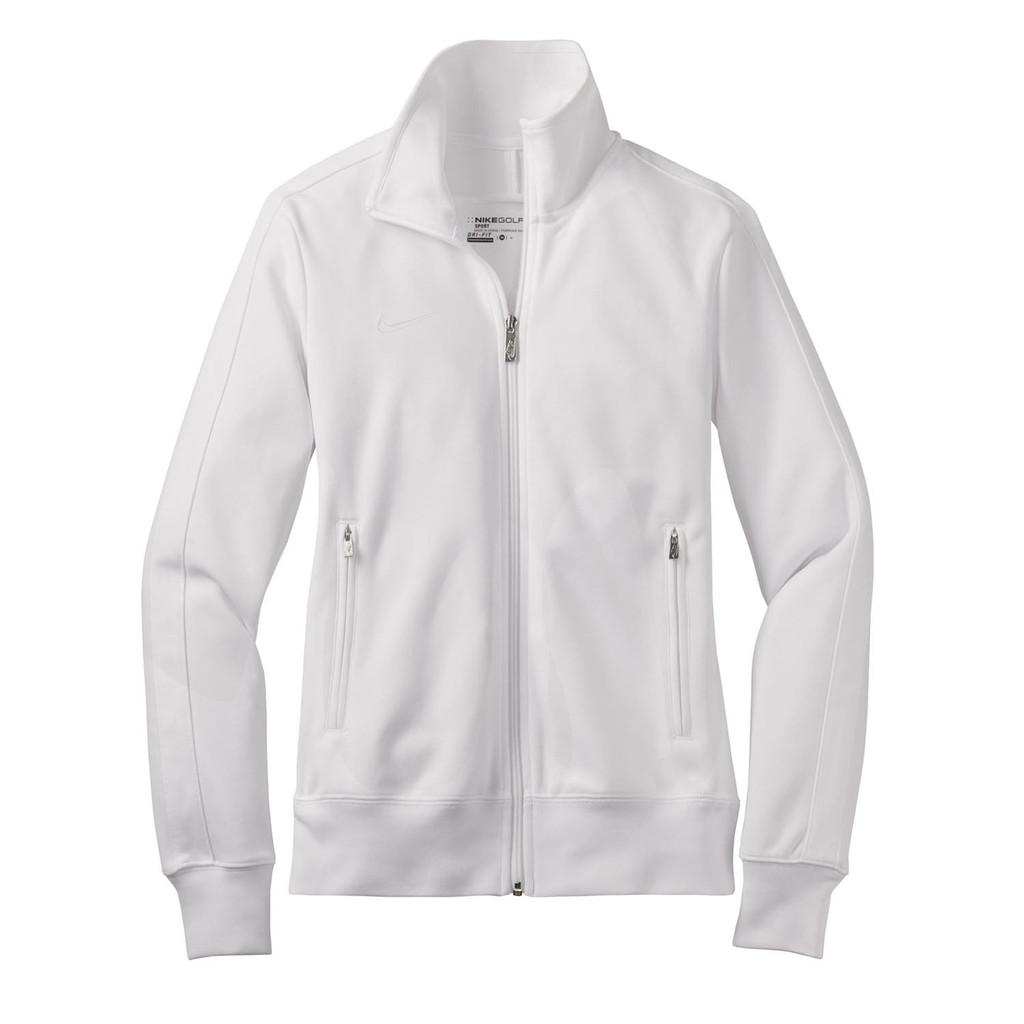 nike coat mens white