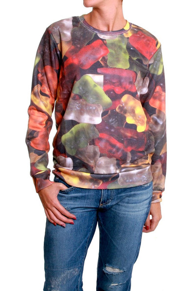 Gummy Bears Print Sweater – Glamzelle