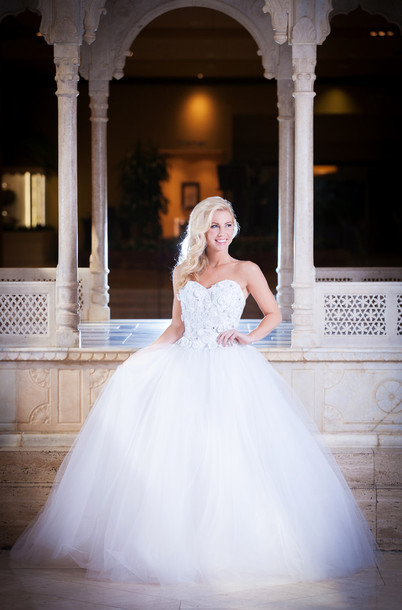 dress, wedding dress, ball gown dress, strapless wedding dresses ...
