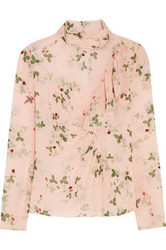 top topshop unique floral blouse floral floral tank top