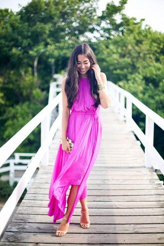 formal party dress formal dress neon neon pink maxi dress maxi summer dress