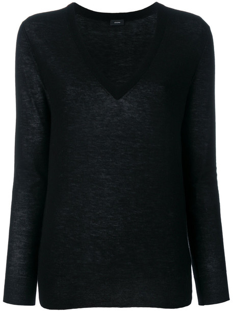 Joseph jumper women black sweater