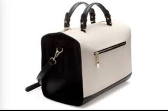 bag bowling bag black white