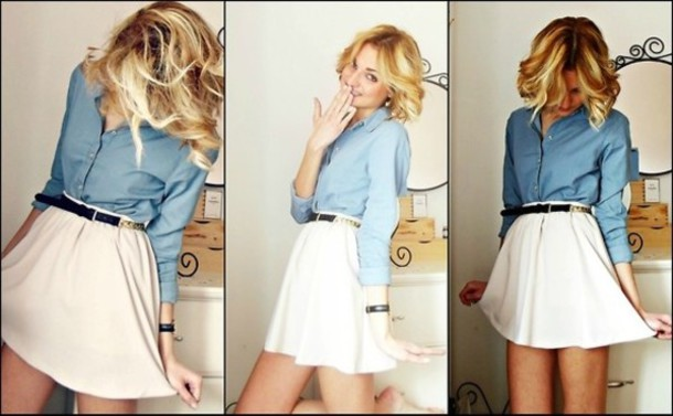 d6dd12d36e shirt cream skirt flare skater skirt flare cream skirt cream skater skirt  flared skater skirt white