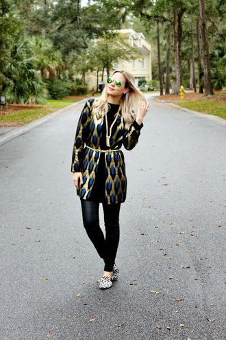 b soup blogger cardigan sunglasses jewels leggings shoes