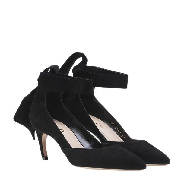 dior back pumps black shoes