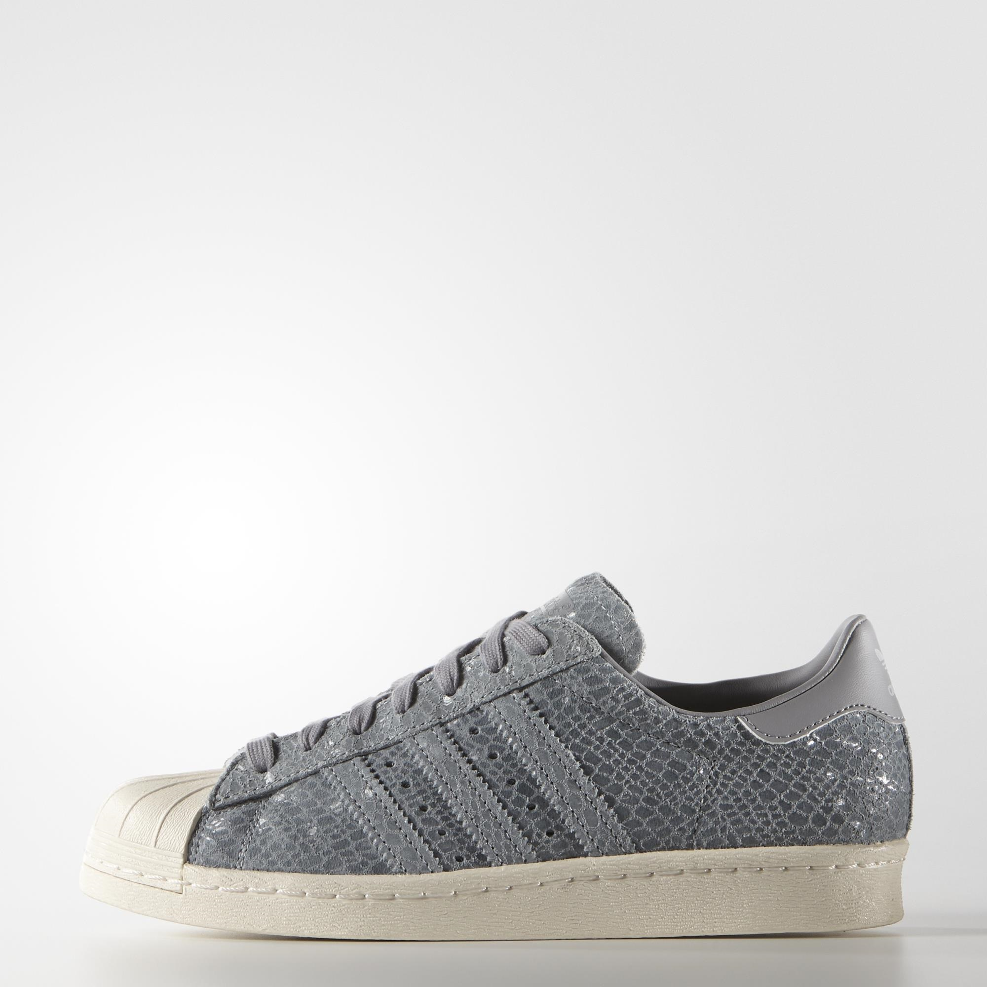 info for 93baf c522c adidas Superstar 80s Shoes - Grey | adidas US