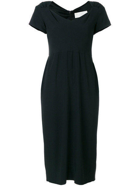 Goat dress pencil dress women black