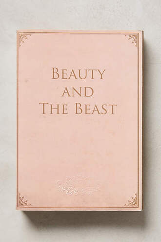 home accessory notebook book pink pastel pink anthropologie beauty and the beast
