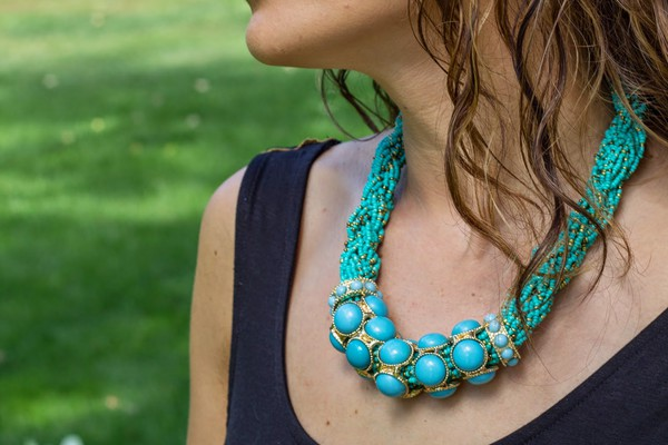 jewels necklace turquoise