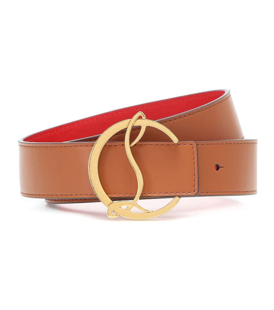 Exclusive to Mytheresa – CL Logo reversible leather belt