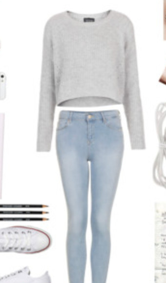 grey fall outfits cozy