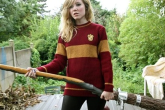 sweater gryffindor hogwarts harry potter