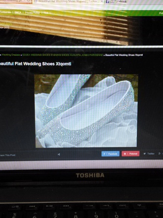 shoes rhinestones wedding flats