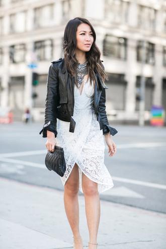 wendy's lookbook blogger jacket dress shoes bag jewels