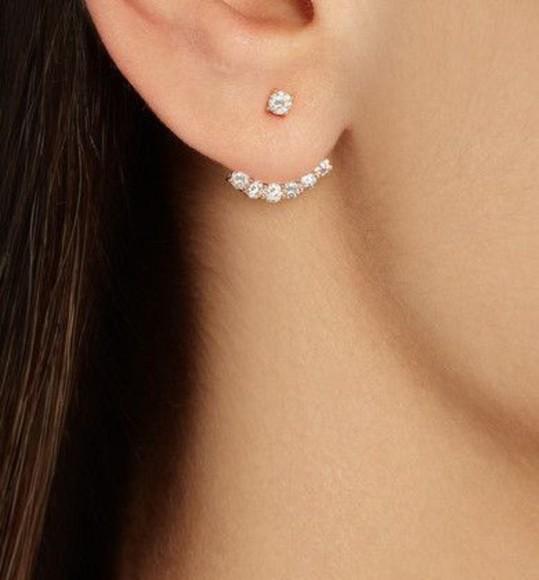 jewels diamonds ear cuff