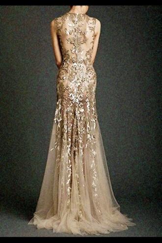 dress gold glitter dress evening dress homecoming dress beautiful ball gowns