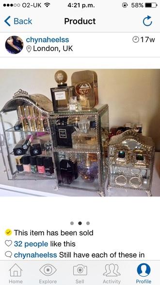home accessory home decor make-up jewels make-up storage storage
