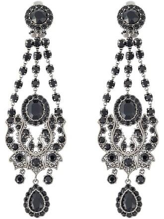victorian earrings metallic jewels
