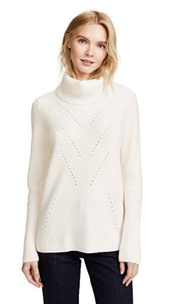 TSE Cashmere sweater long creme