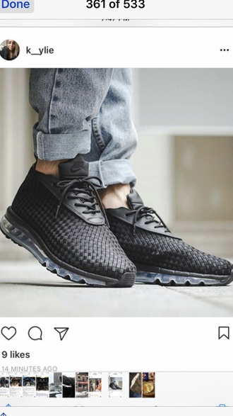 shoes black white bubble look like la knit pattern in too op but not sweater material