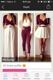 jeans,burgundy,high waisted,skinny,blouse,Colors of Aurora