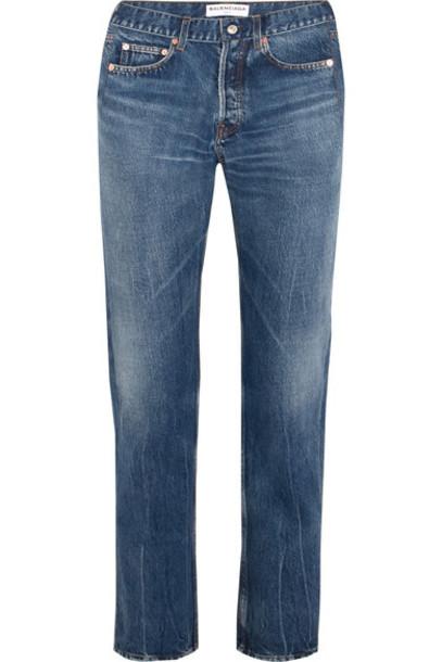 Balenciaga jeans denim high