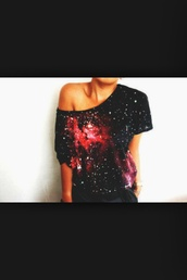 t-shirt,galexy
