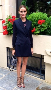 shoes,olivia palermo,dress