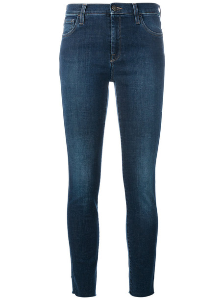 gucci jeans skinny jeans embroidered women spandex cotton blue