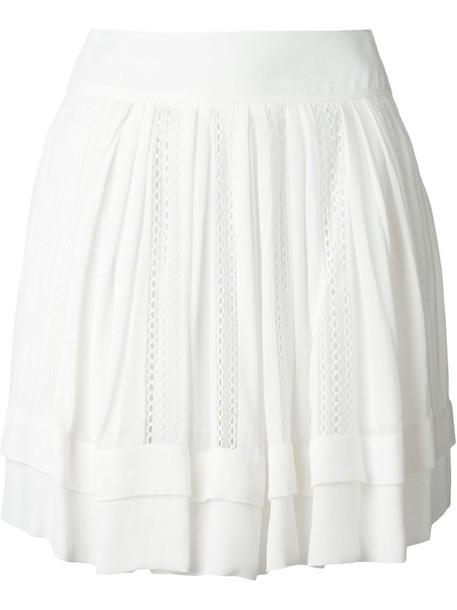 Iro skirt women white cotton