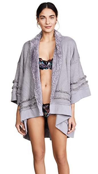 Honeydew Intimates cardigan cardigan grey sweater