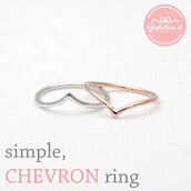 jewels,jewelry,ring,chevron ring,chevron,stacking,stacking ring