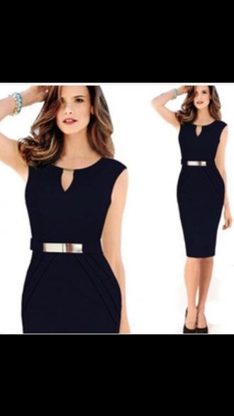 dress pencil dress office dress bodycon dress office outfits blue dress