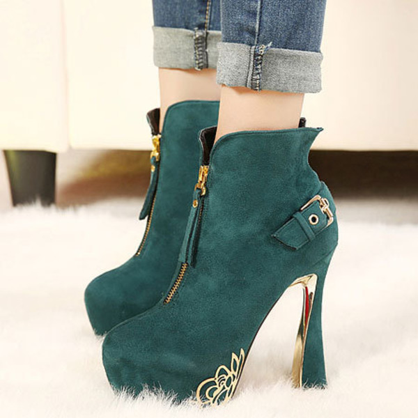 shoes high heel elegant rose style chic
