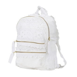 bag white agua bendita backpack designer bag bikiniluxe