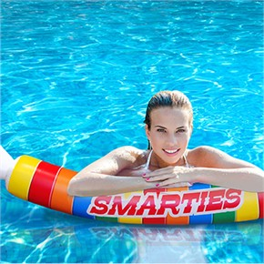Smarties Pool Noodle, Giant Smarties Pool Float