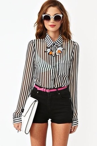 blouse white blouse white top black top black and white blouse striped shirt black and white white black white and blank