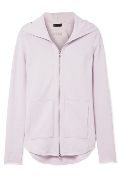 ATM Anthony Thomas Melillo top cotton lavender