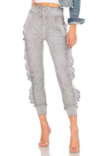 Wildfox Couture ruffle pants