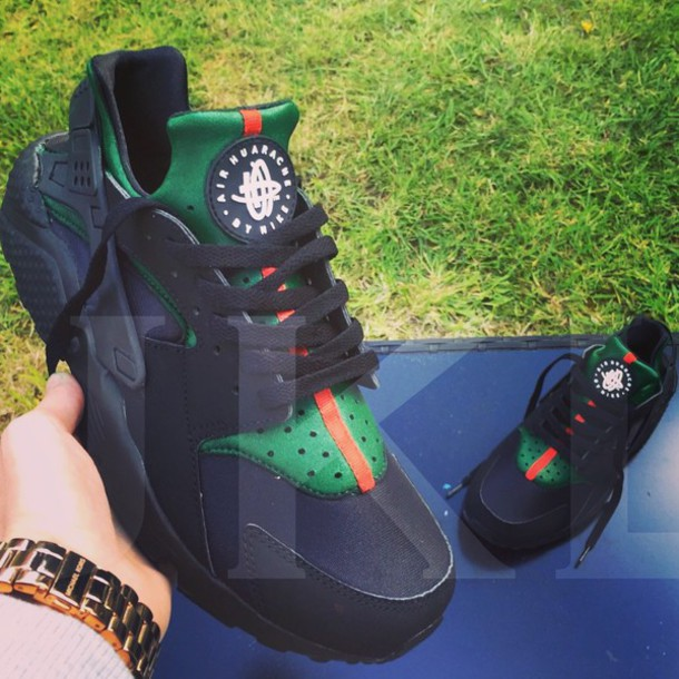 nike air huarache x gucci
