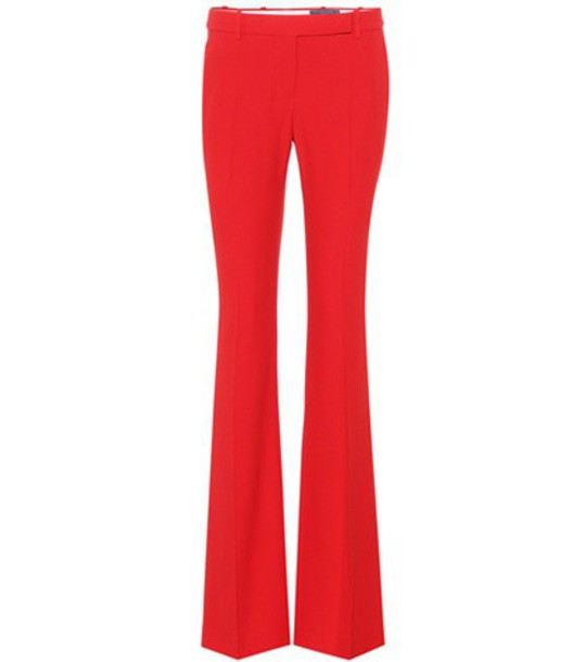 Alexander Mcqueen red pants