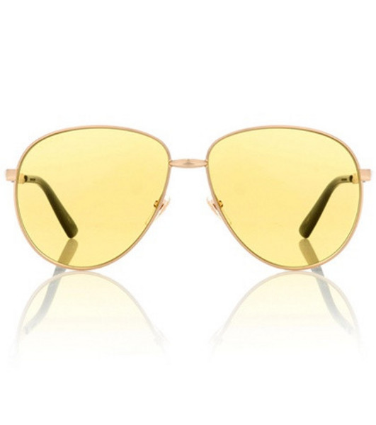 Gucci Exclusive to mytheresa – aviator sunglasses in gold